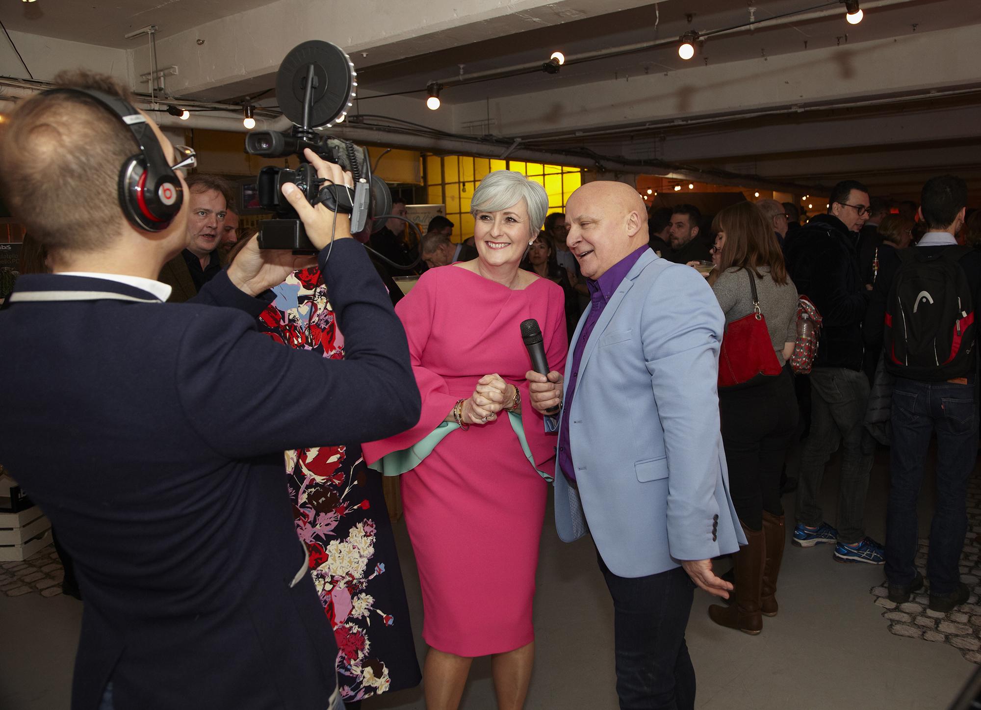 Pesto Pioneers, Sacla' UK, Celebrate 25 years with friends in Soho, Aldo Zilli featured