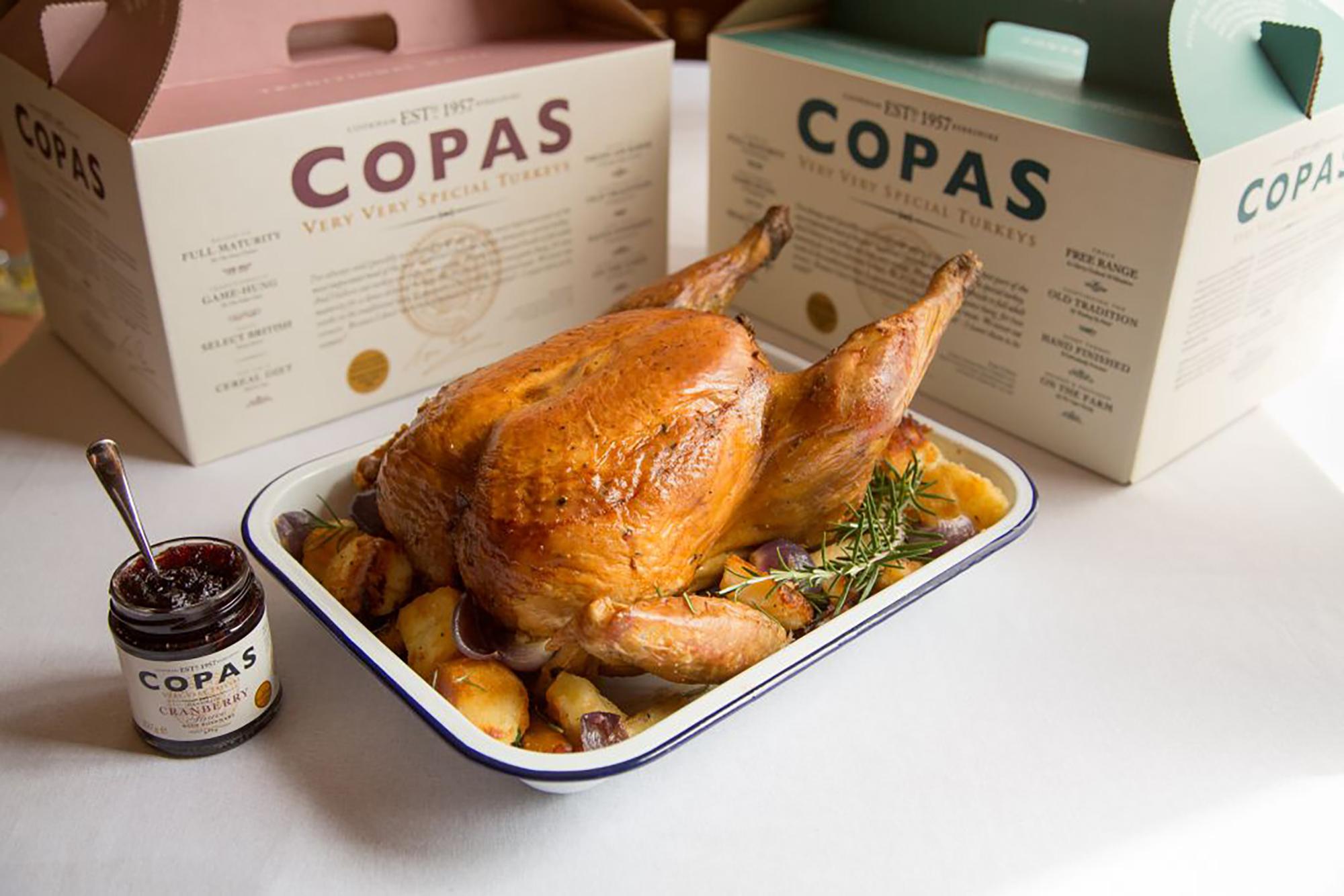 Copas Turkey & Boxes - Very Very Special Turkeys