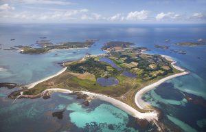 Tresco Island, Aerial Photography