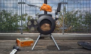 Ozpig Portable wood burner and stove
