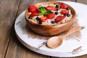 Recipe of the Week: Berry Healthy Maple Porridge
