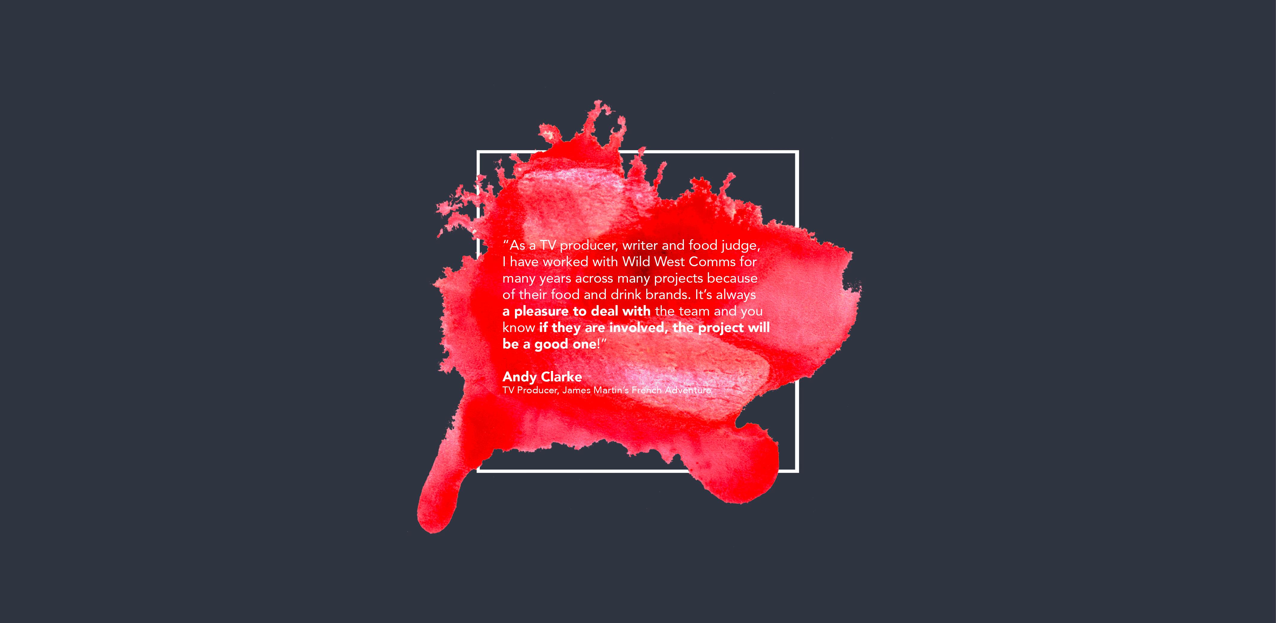 Andy Clarke - Wild West Comms Testimonial
