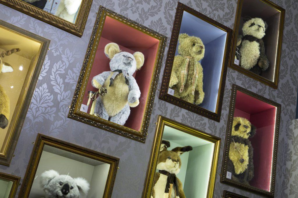 Charlie Bears Website - Wild West Communications